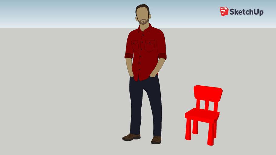 Ikea Mammut Chair 3d Warehouse