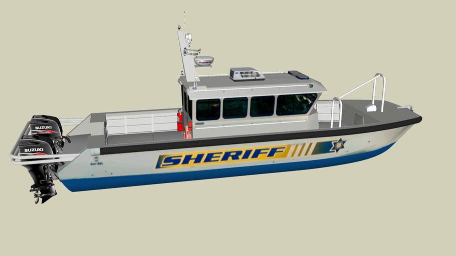 Calcasieu Parish Sheriff's Boat