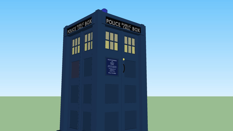 The 4th Doctor's Tardis - Doctor Who