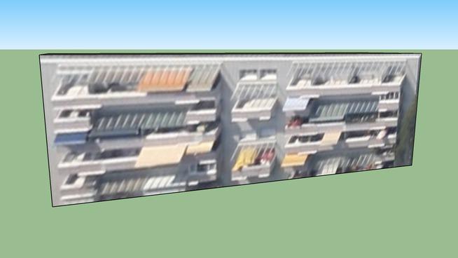Linz, Donau, 4020 林茨奥地利的建筑模型