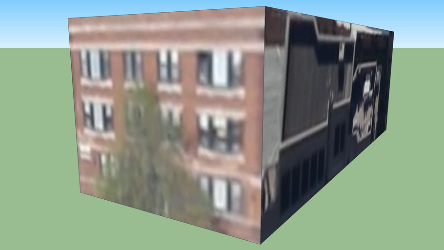 Building in Chicago, Illinois, EUA