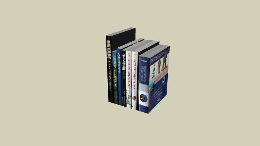 Bücher 04 (23x35x23cm)
