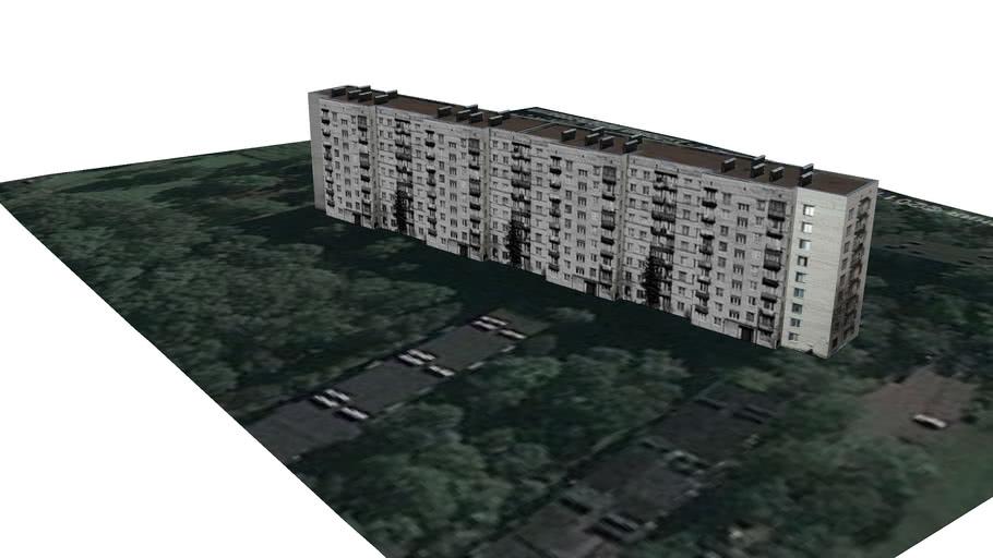 9-ти этажный дом