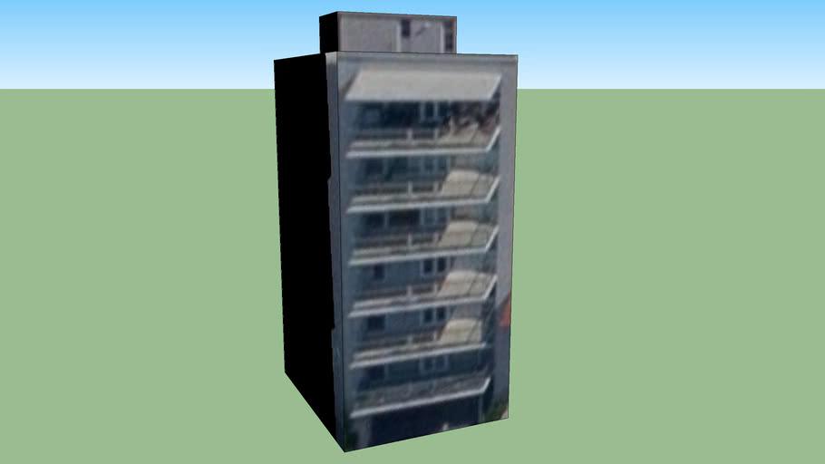 Bâtiment situé Alem L.n. 4501-4599, Mar del Plata, Province de Buenos Aires, Argentine