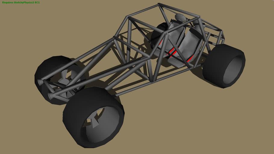 SketchyPhysics 3 RC1 Dune Buggy