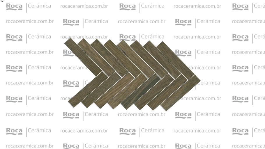 ROCA - MOSAICO PIEMONTE ROBLE 25X45