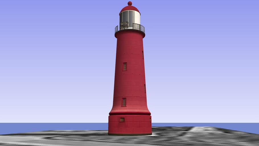 The Low Lighthouse IJmuiden