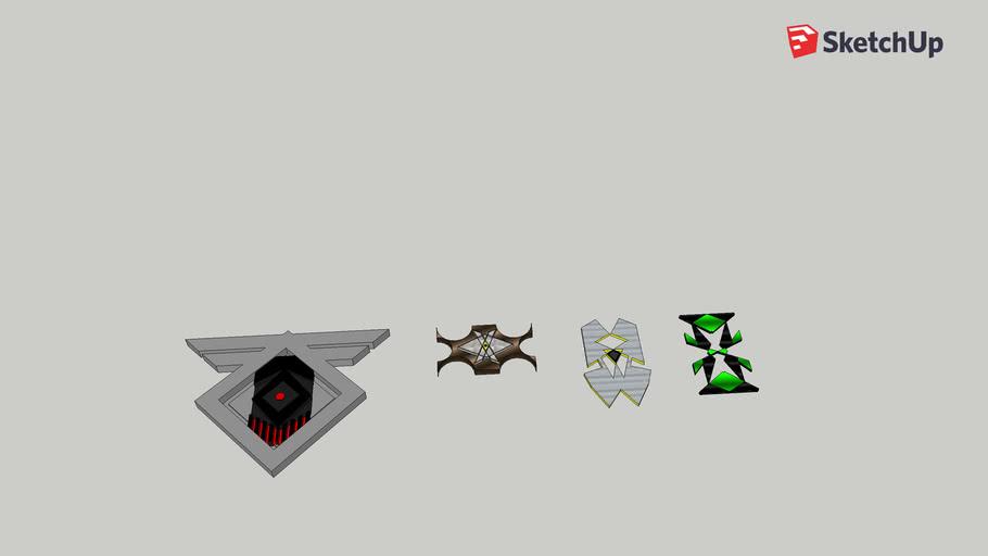 Destiny 2 Symbol Concepts and plaques