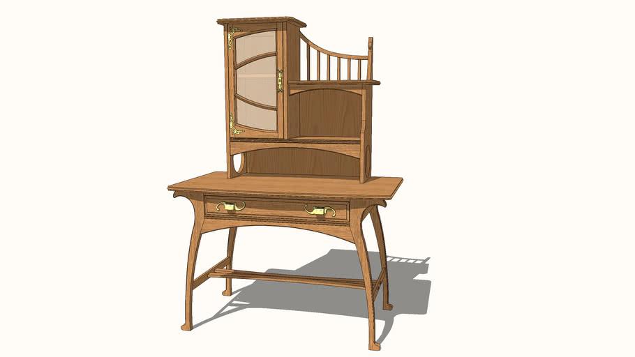 Art Nouveau Daily Desk