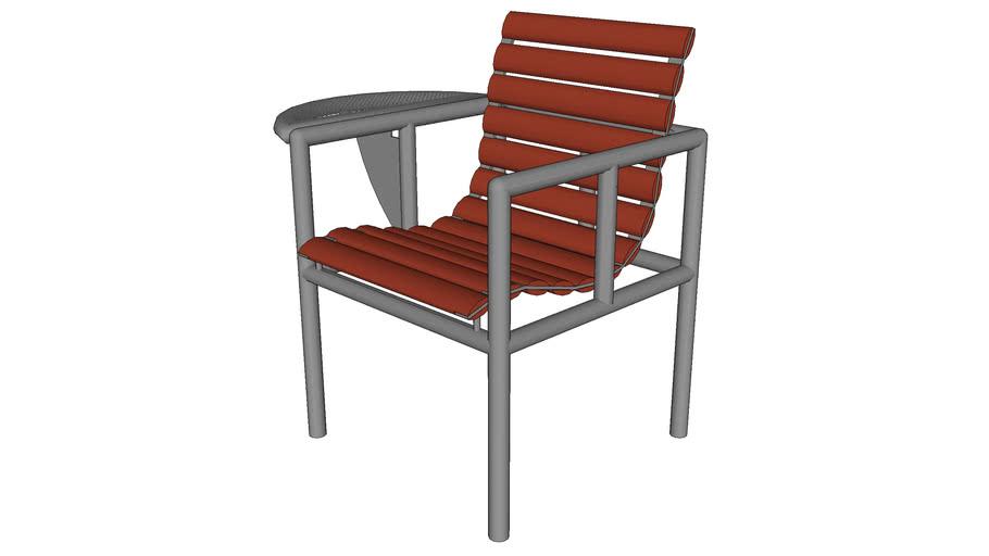 Washington Square 1 Seat Bench