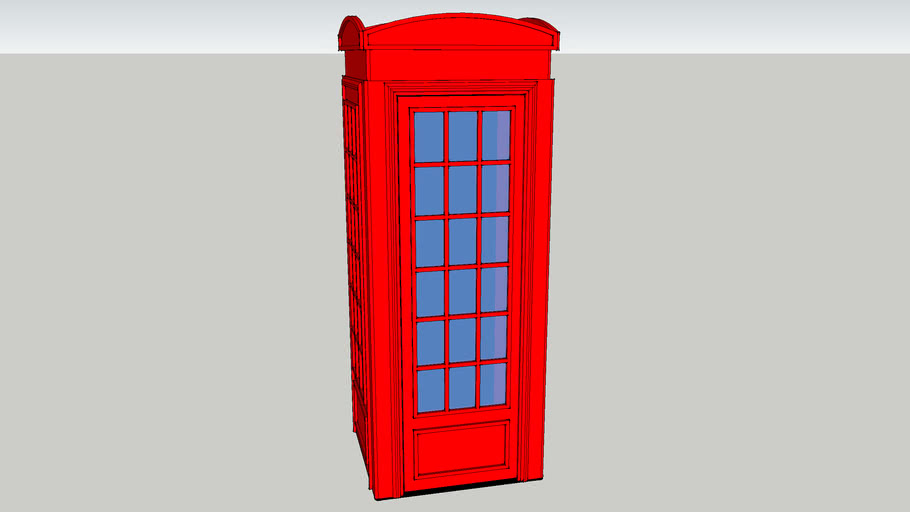 K2 plywood phone booth