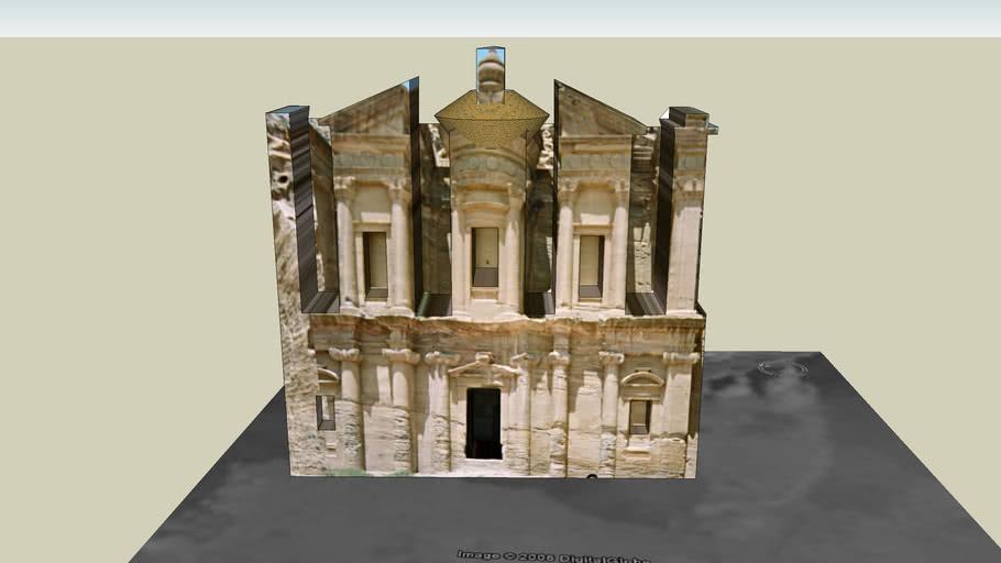 Monastery - Petra - Jordan - 7 wonders