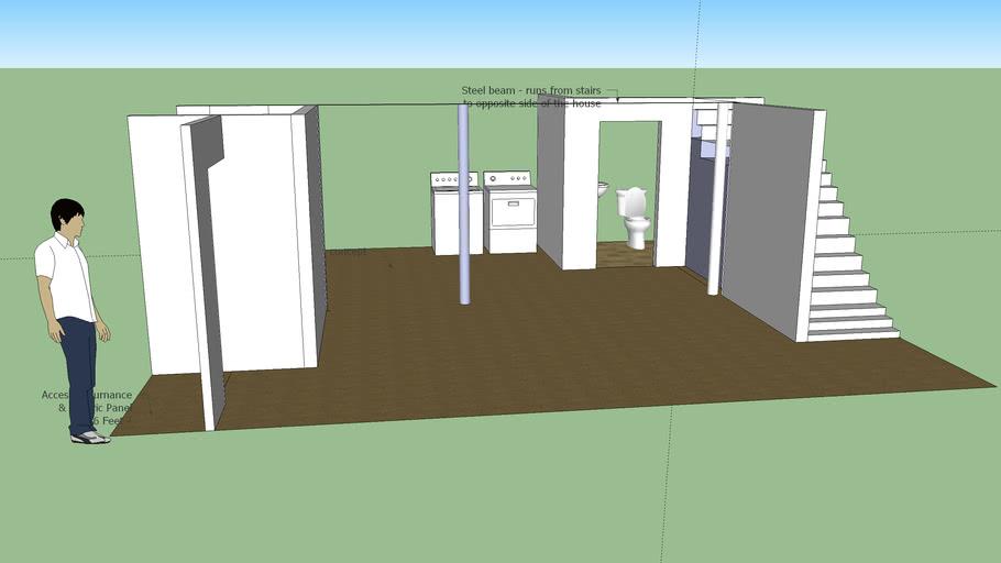 Planned basement renovation