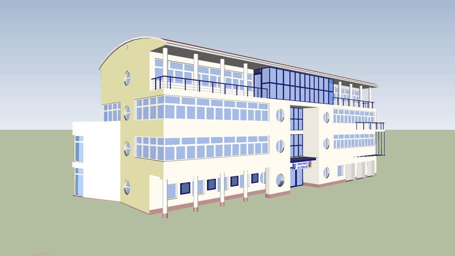 The Labour office in Vyškov, detailed model