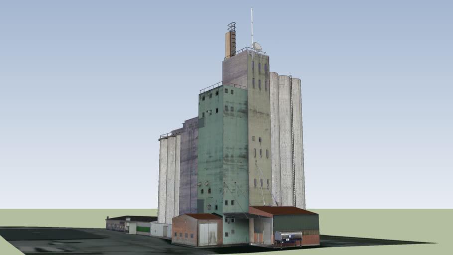 Tower silo by Mirko