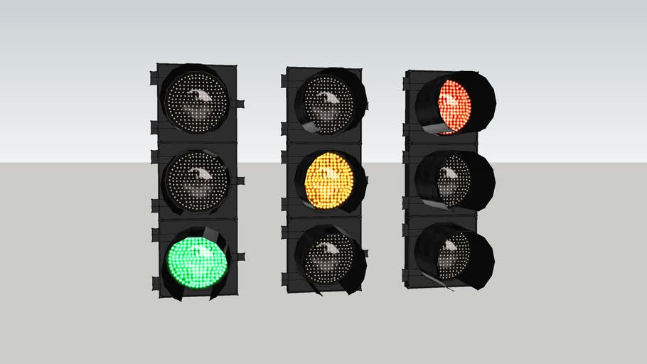 LED 8 inch signals