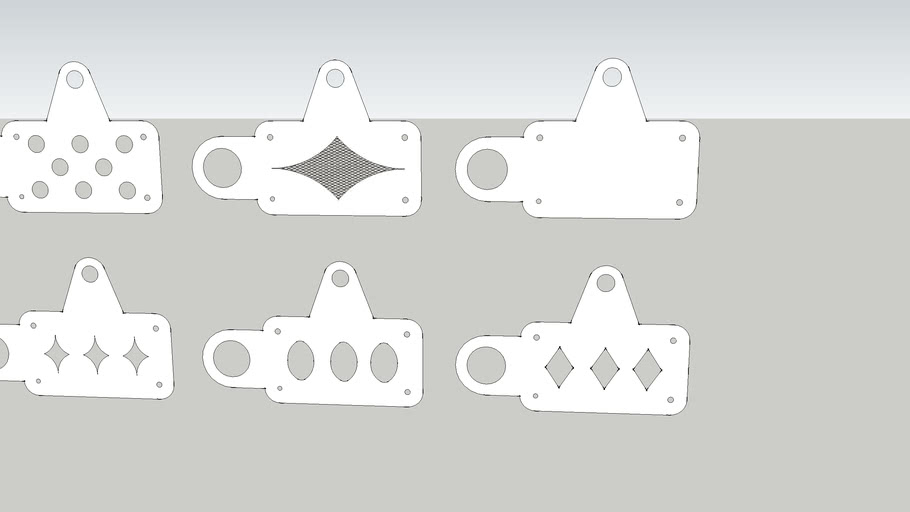 Lic Plate Bracket