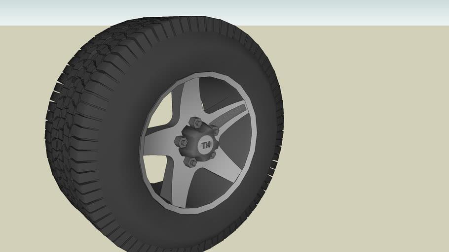 Wheel for truck