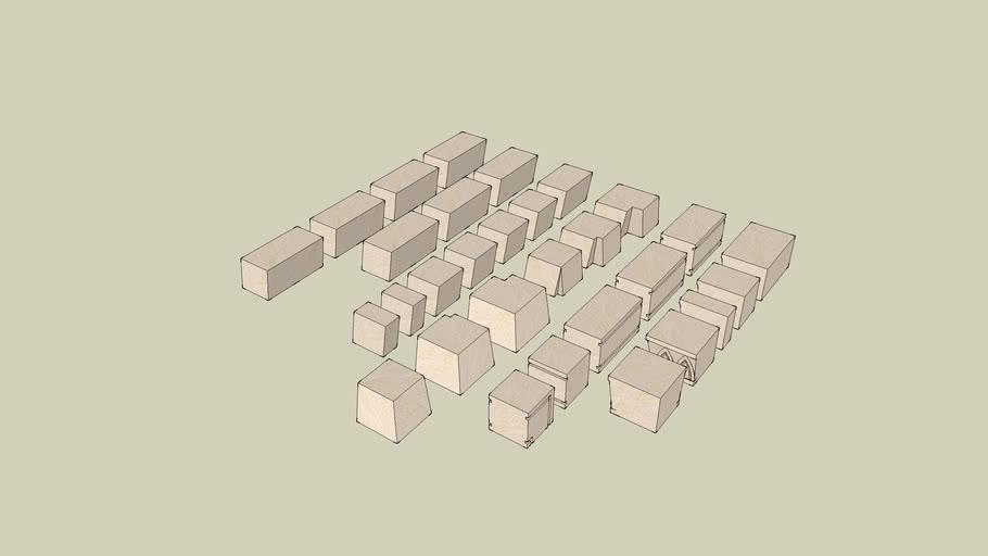 Hirst Arts Blocks Mold 093