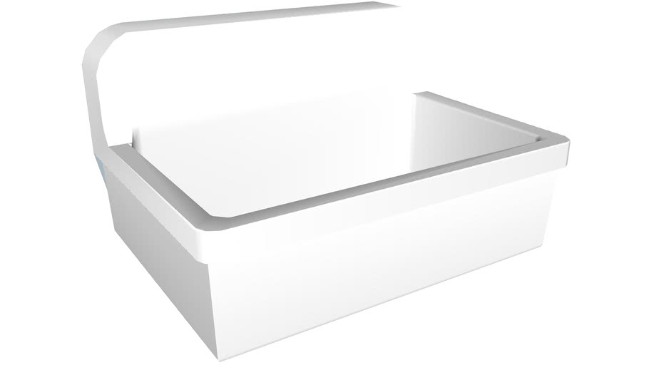 """K-12787 Gilford(TM) 30"""" x 22"""" bracket-mounted scrub-up/plaster sink with 8"""" widespread faucet holes"""