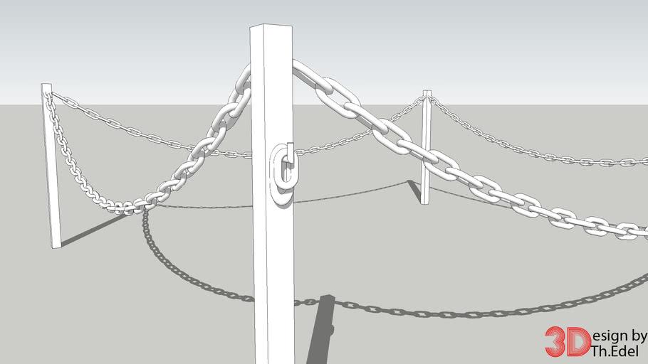 Kettenzaun - chain fence