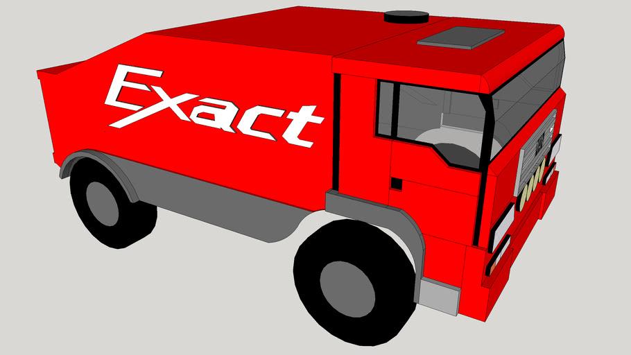 MAN Dakar Truck Team Exact .