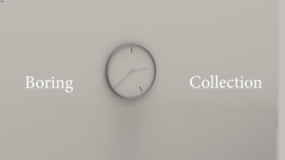 BORING | Clock