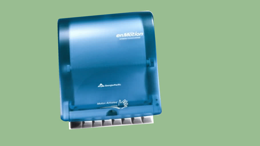 Georga-Pacific Emotion Automatic towel dispenser Splash Blue