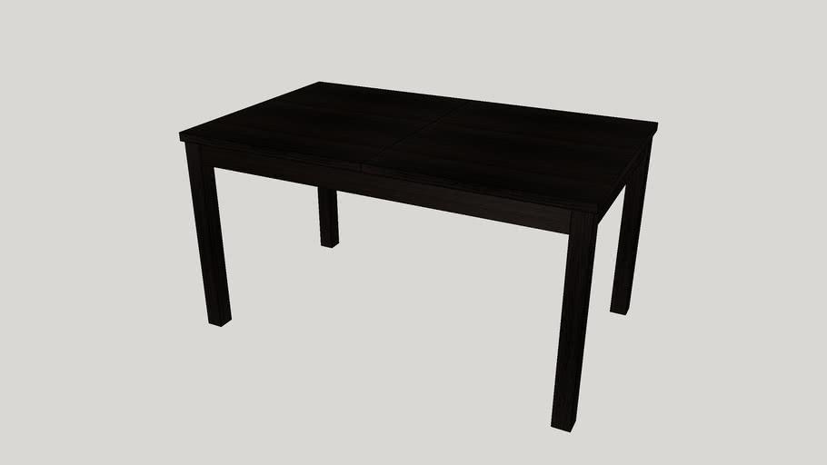 Ikea Bjursta Extendable Table Brown
