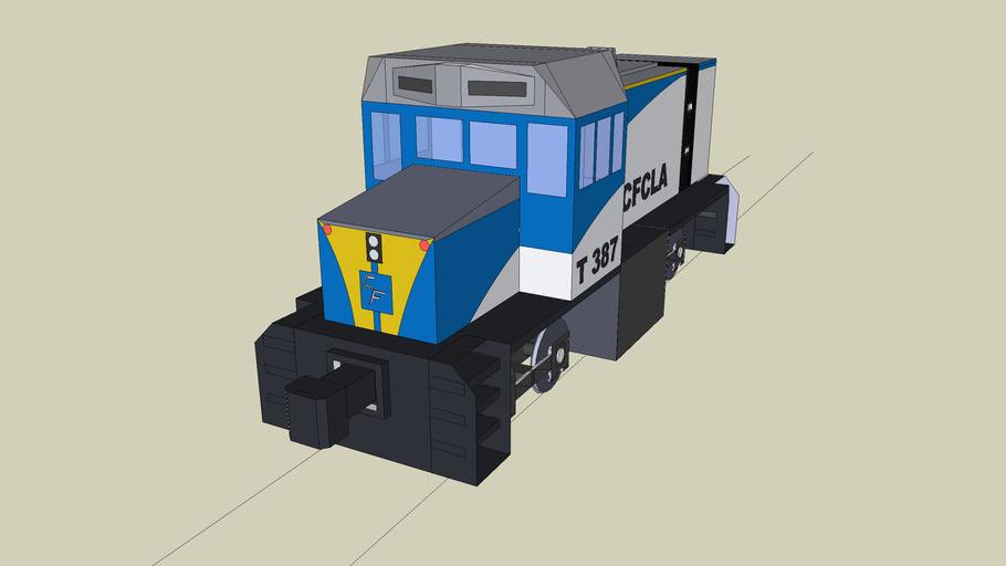 t class Cfcla Livery T387