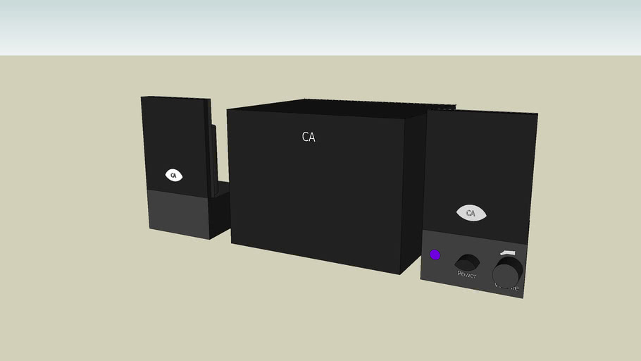 Cyber Acoustics Speakers & Subwoofer