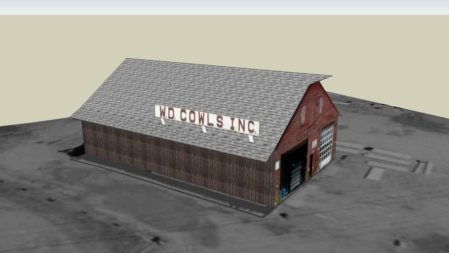 Cowls Storage Barn #1, North Amherst