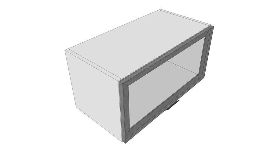 Armario Superior basculante porta de vidro