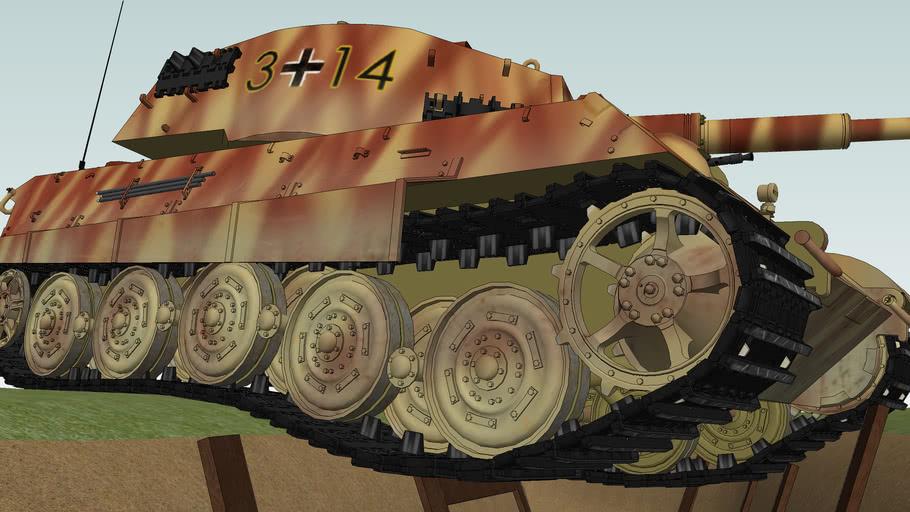 King Tiger Tank - Panzerkampfwagen VI ausf.B - Tiger II - Heavy Tank