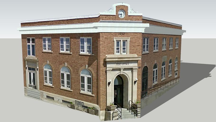 Wilkie Post Office
