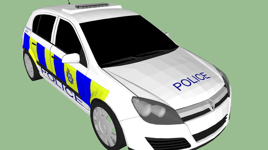 West Yorkshire Police Vauxhall Astra