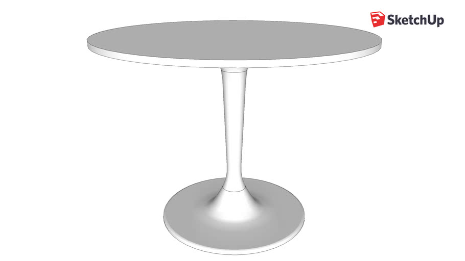 table IKEA DOCKSTA Ø103