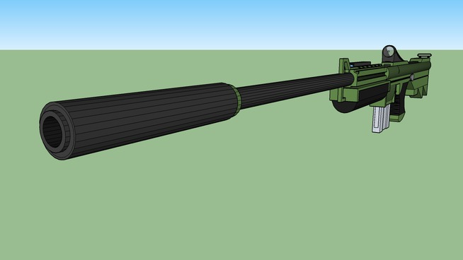 KXR37. Recon Asult Rifle (Forest Version)