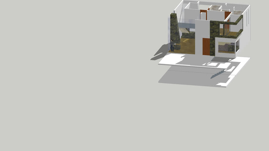 Two stage loft like house