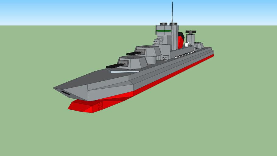 stalingrad class space battlecruiser