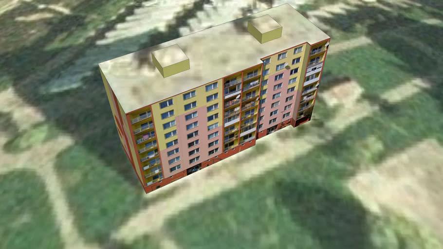 Panel house on Kukucin street