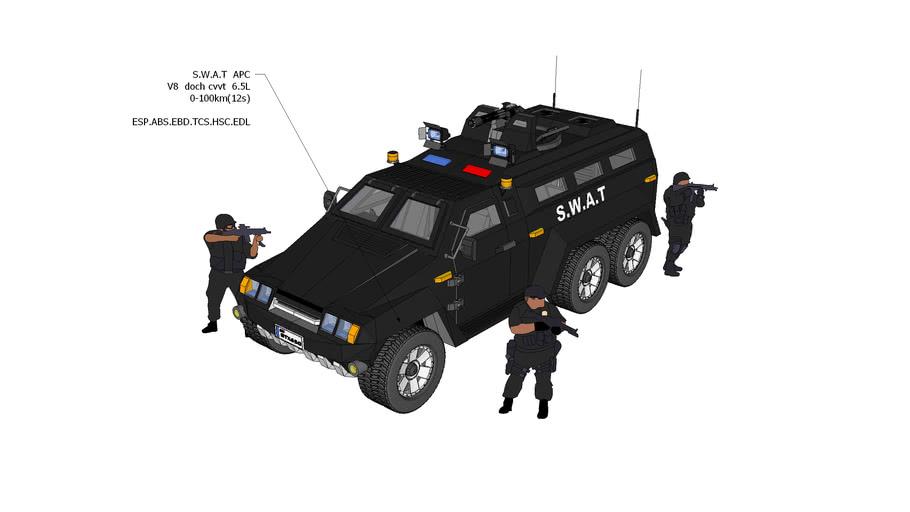 SWAT vehicle,GM,特警装甲车