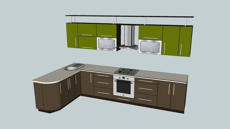 Кухня угловая 5,3м