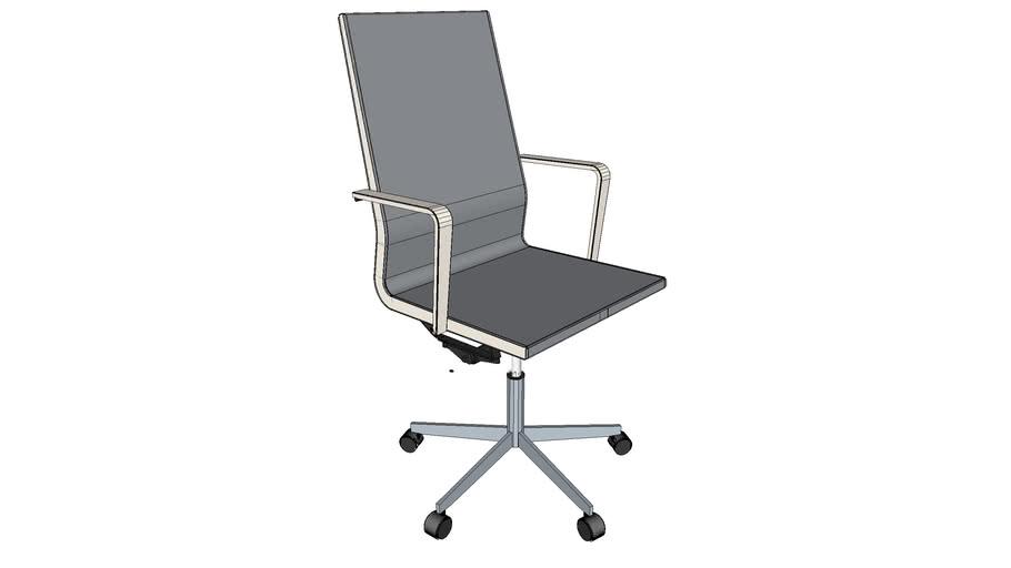 BULO - Vincent Van Duysen Chair - chaise de bureau haut dossier