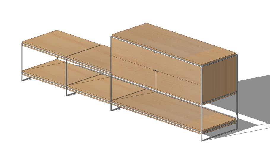 Light Wood Shelf/Credenza
