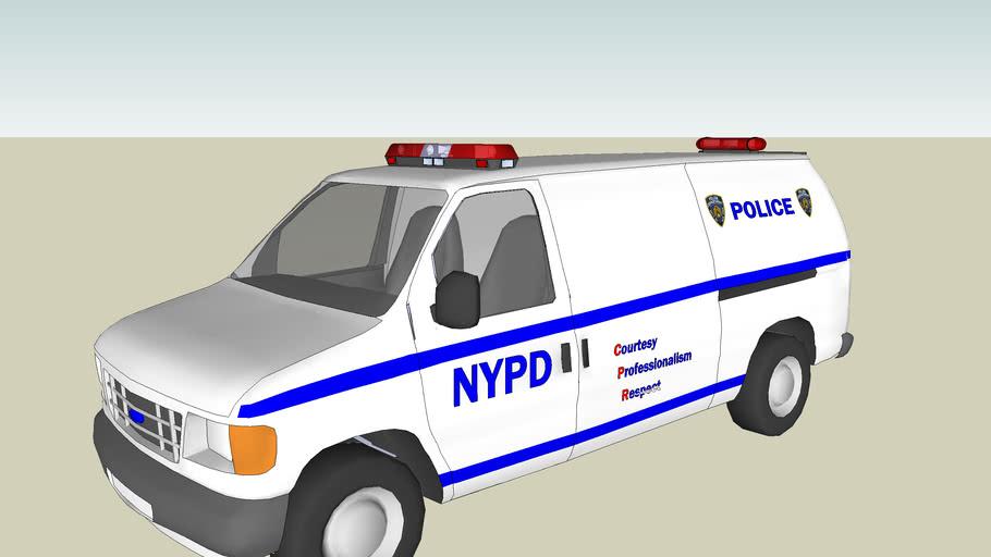 Ford Econoline NYPD Van