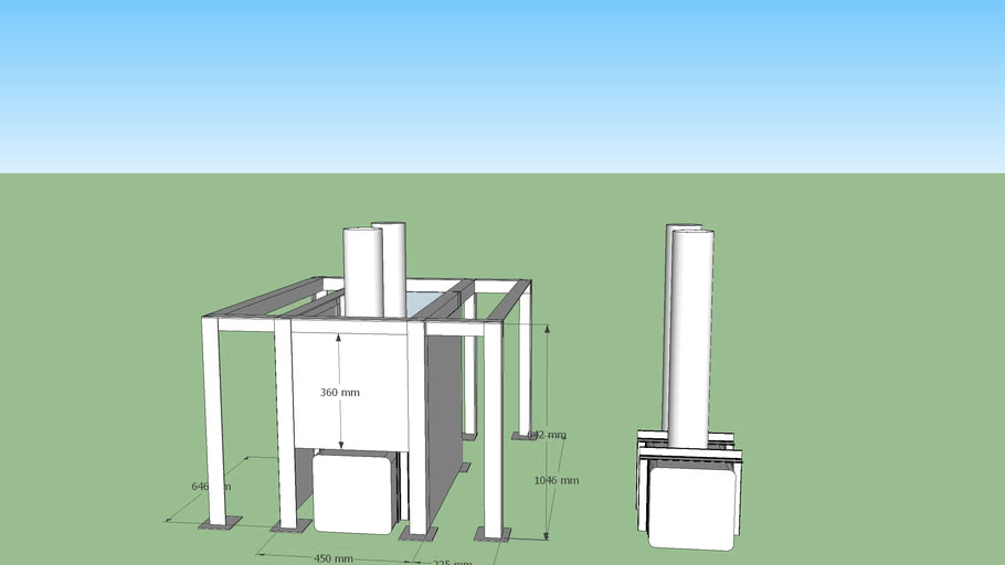 石窯 プロトタイプ2