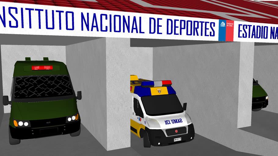 Estadio Nacional de Chile (remodelación completa 2012)