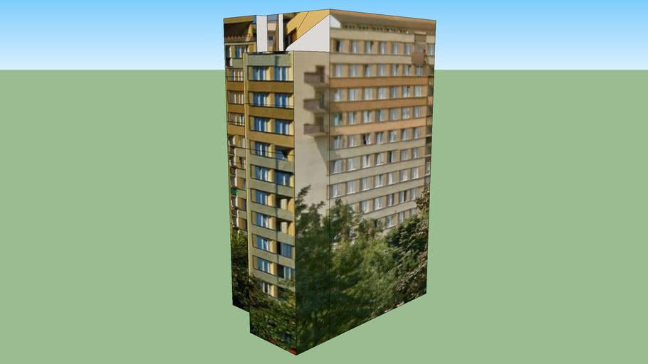 multilevel residental block at Bernardyńska str.