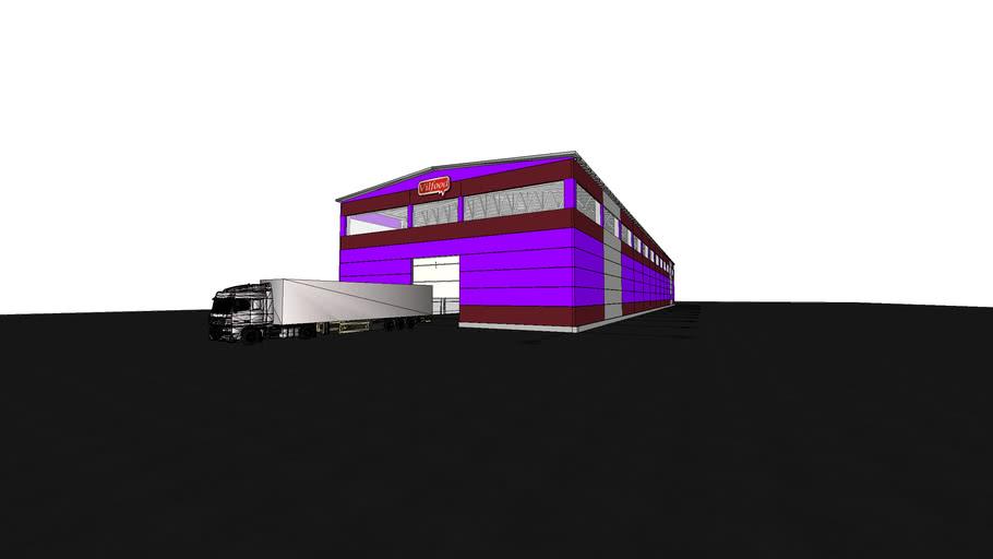 Prefabricated Factory Structure  գործարան